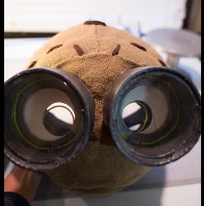 Tim Burton Nine Costume Head: Clothing the Head