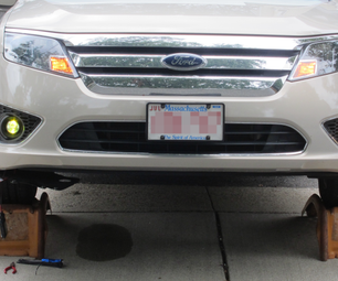 2010 Ford Fusion HID Fogs Installation