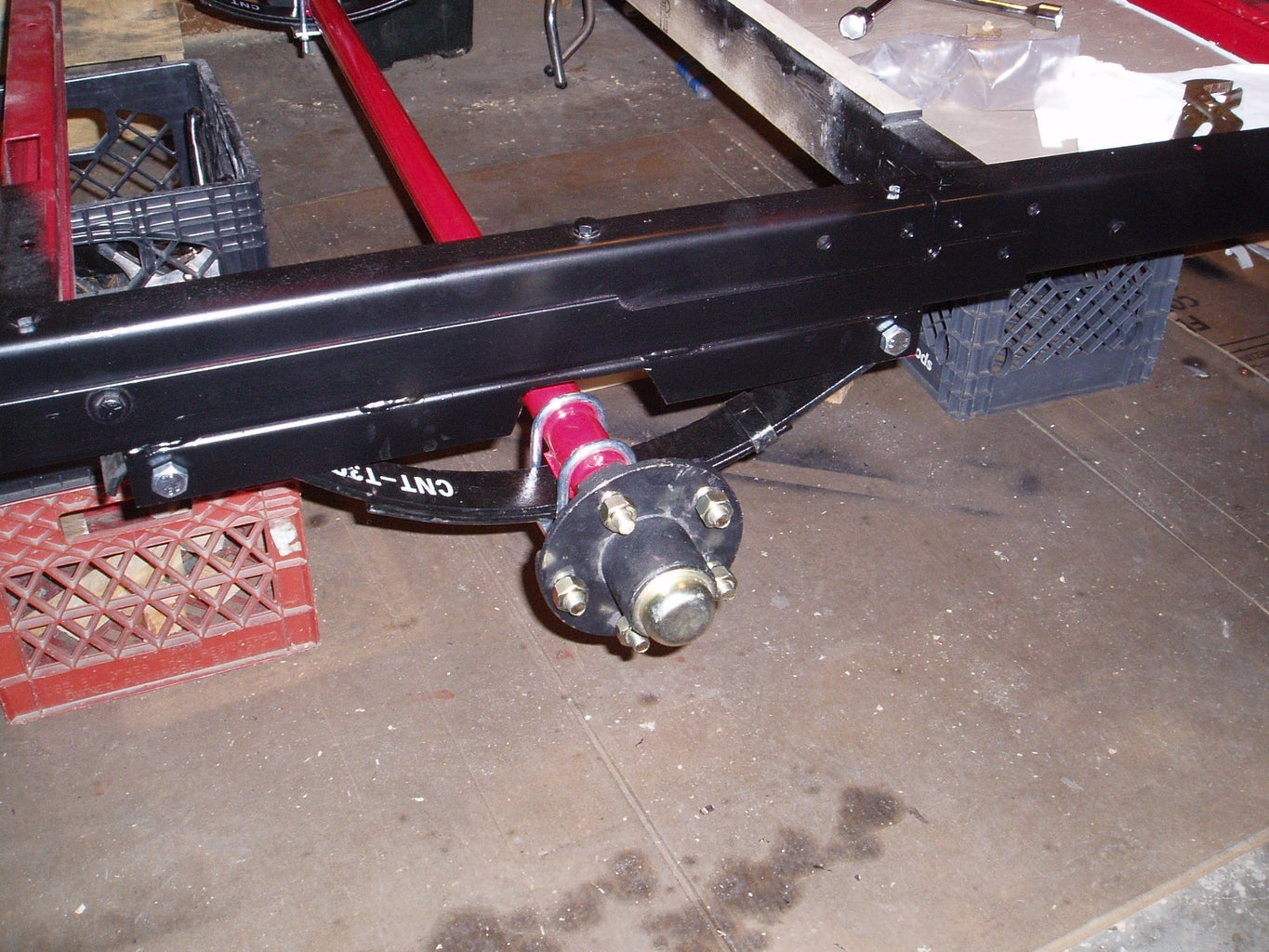 Dealing W Harbor Freight Axle