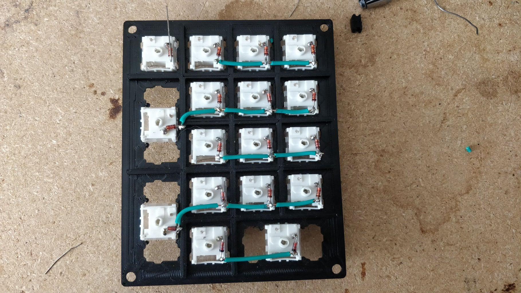 Begin Wiring/soldering