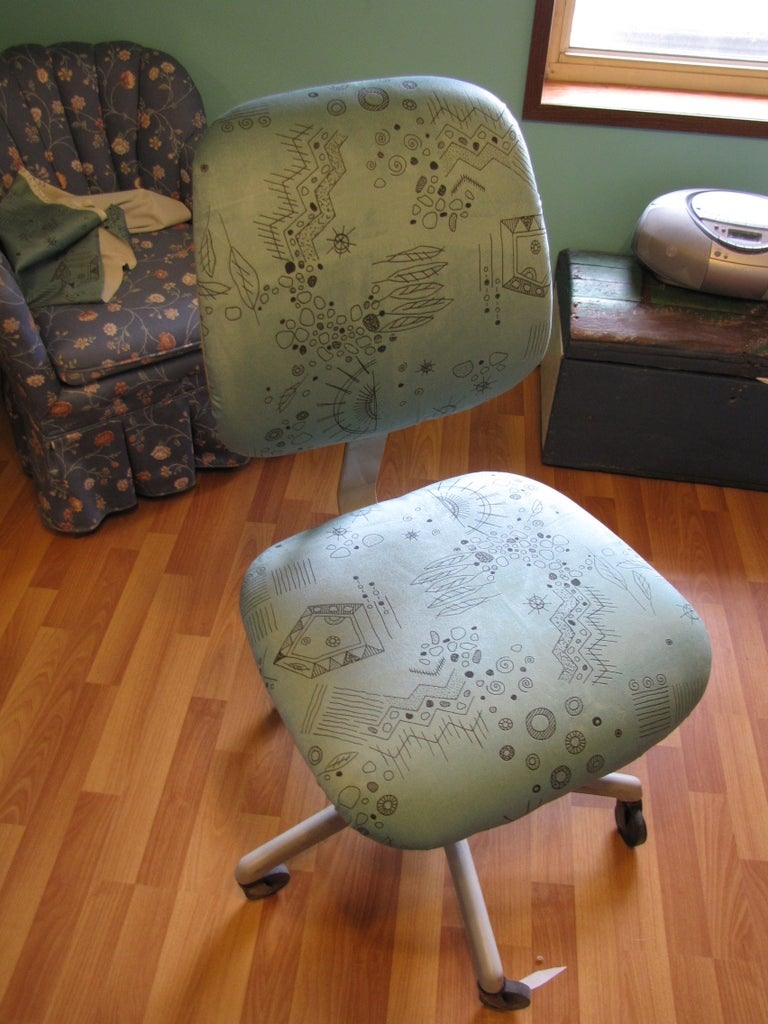 Easy Office Chair Facelift!