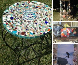 Sea Glass/Shell Beach Crafts