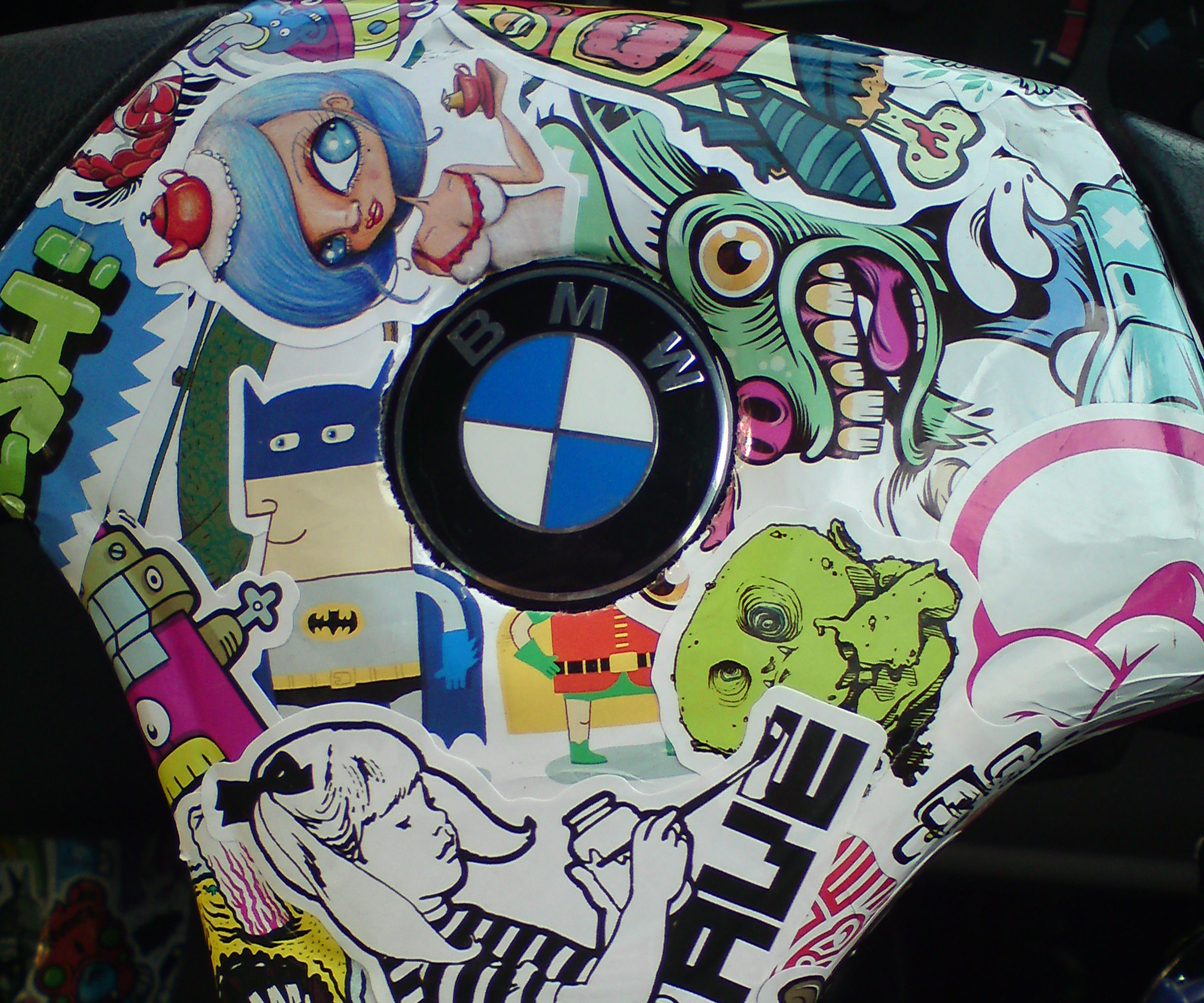 Car Stickerbomb *BMW Edition*
