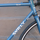 Remove decals from a bicycle