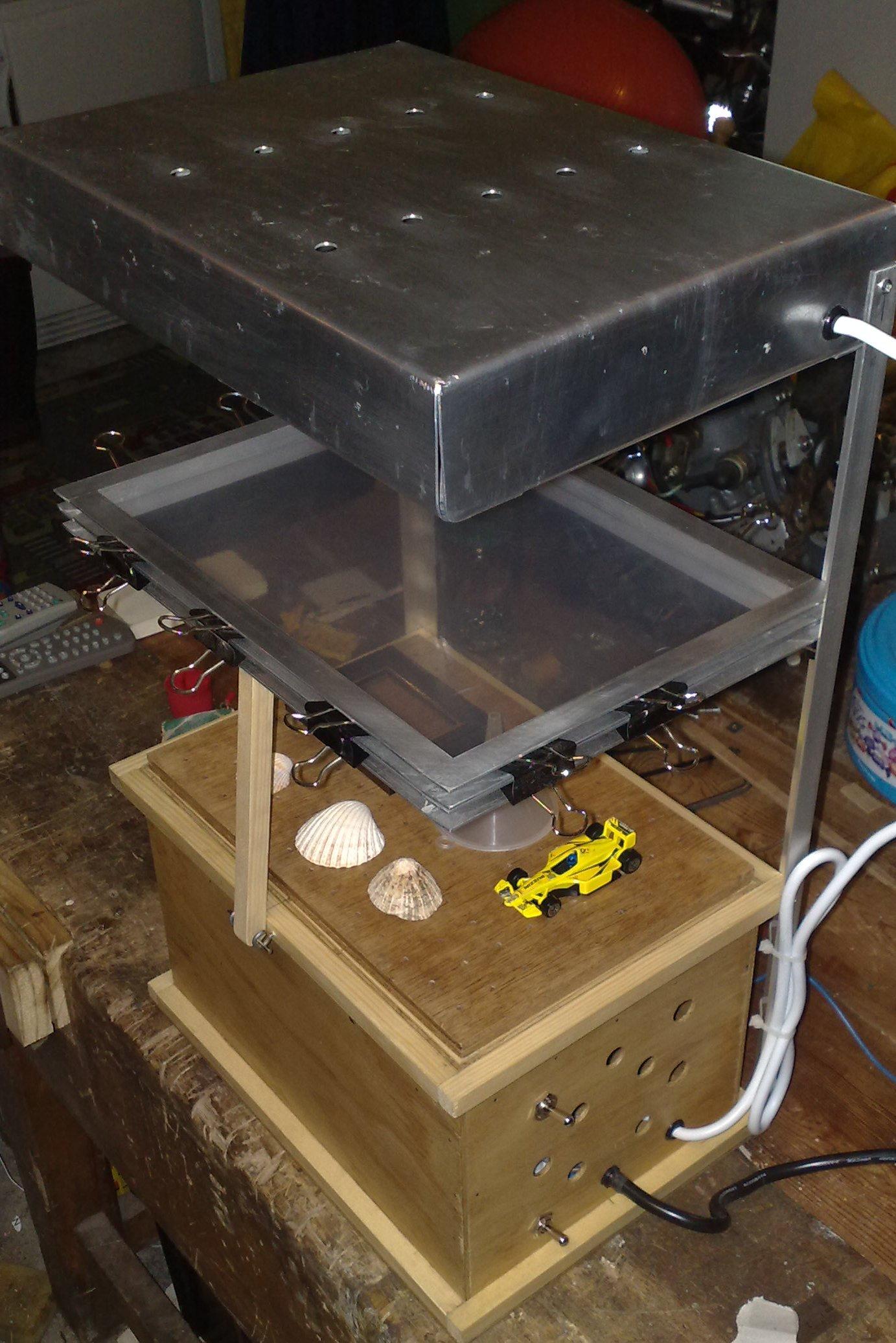 Vacuum Forming Rig