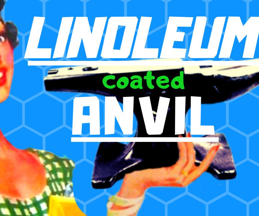 Forge Burner and Linoleum-Coated Anvil