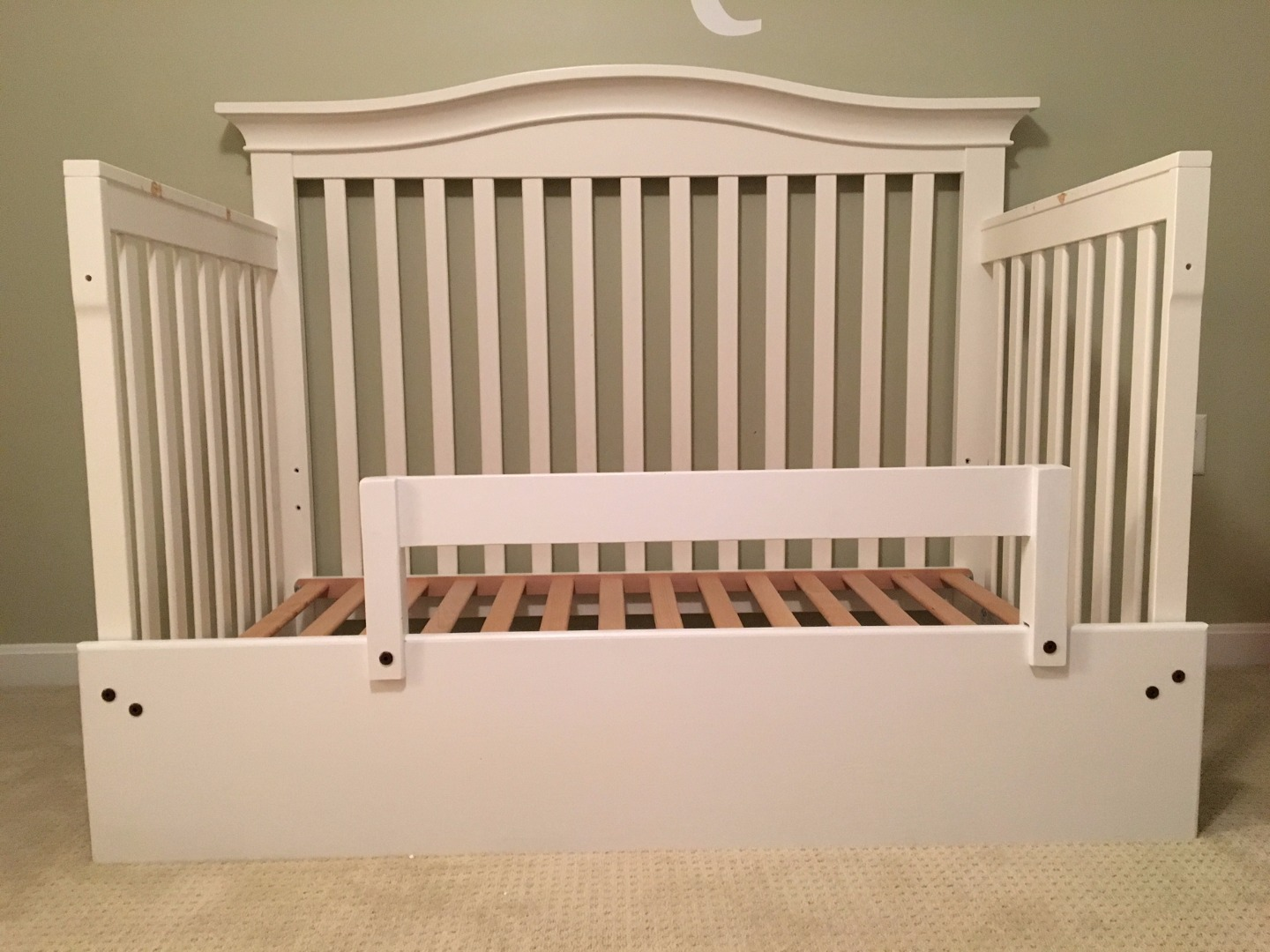 Crib Into A Toddler Bed Hack 8 Steps With Pictures Instructables
