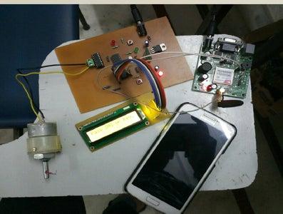 Arduino Based Digital Door Lock Using GSM and Bluetooth