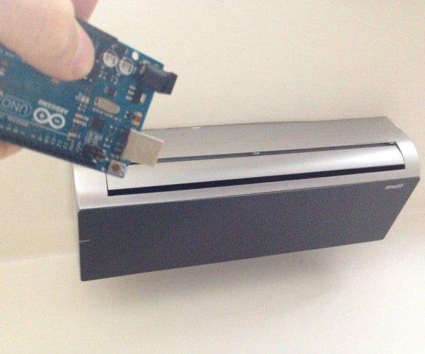 Air Conditioning Web Controlled by Arduino