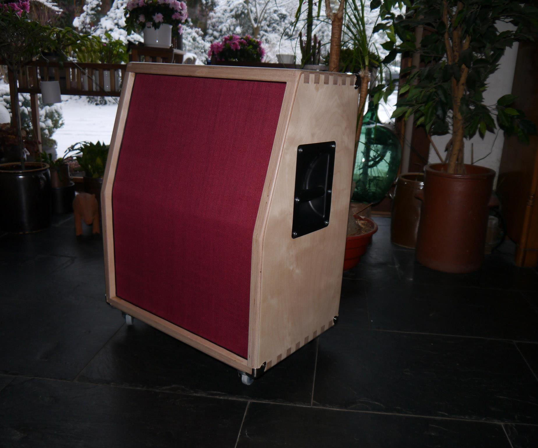 "2 X 12"" Guitar Speaker Cabinet Box"