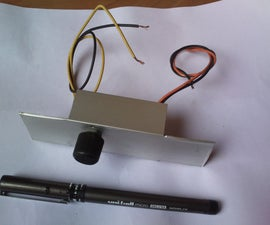 PWM Dimmer  Using  NE555 and MOSFET  With DIY Aluminium Case.