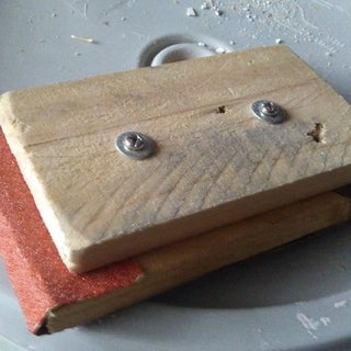 Quick and Easy Sanding Block