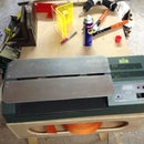 Building an Acrylic Strip/Line Bender from a old Pouch Laminator