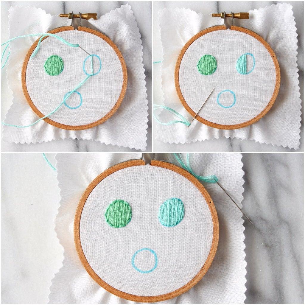 How to Do the Satin Stitch