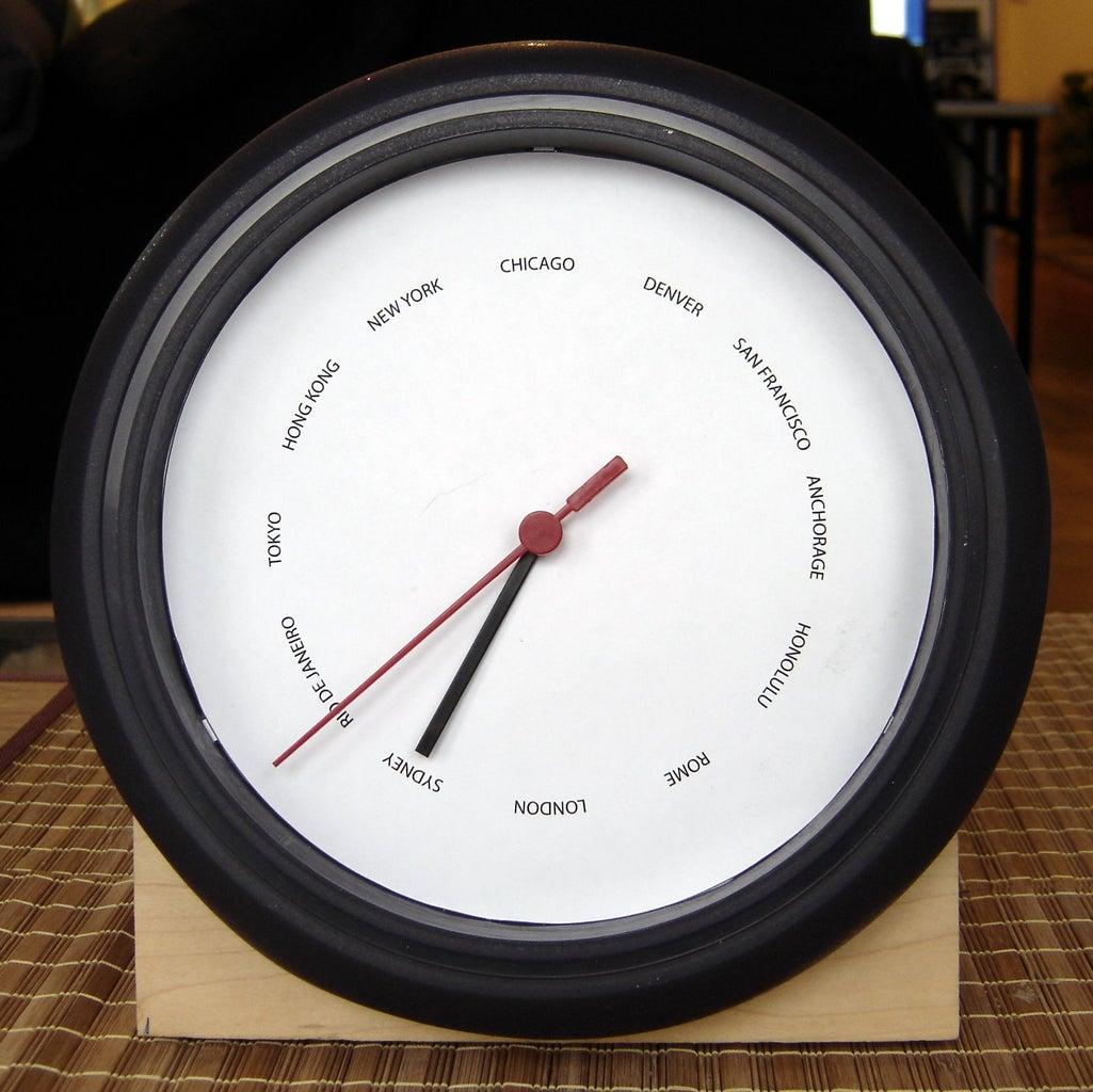 IKEA International Clock
