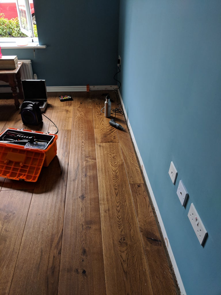 Skirting Boards - Smashing Up the New House