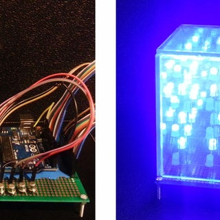 How to Write Your Own 4x4x4 LED Cube Show for Arduino