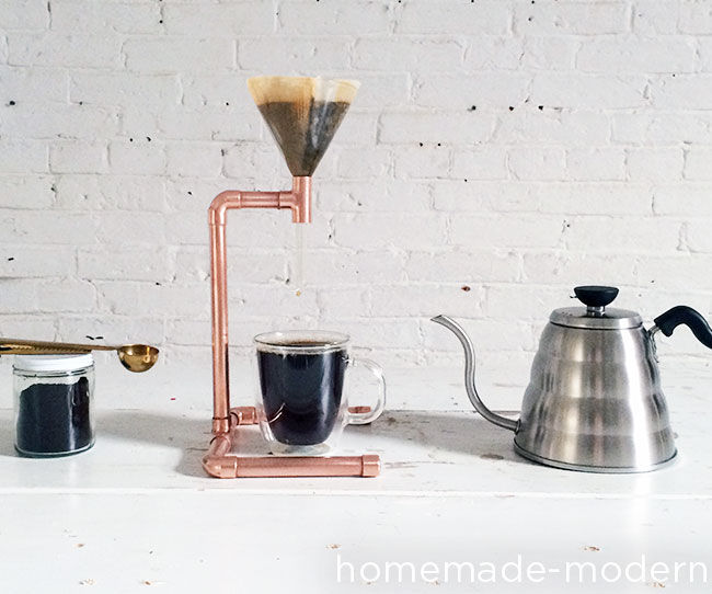HomeMade Modern DIY Copper Coffee Maker