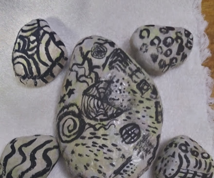 Abstract Rock Turtle