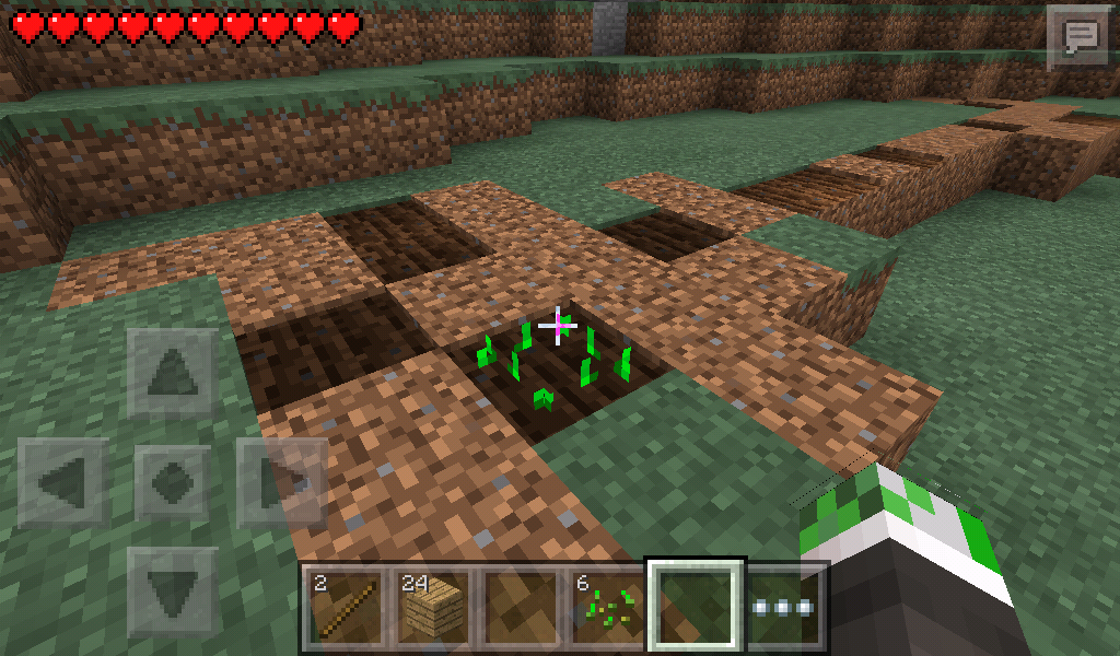 how to get beetroot seeds in minecraft pe