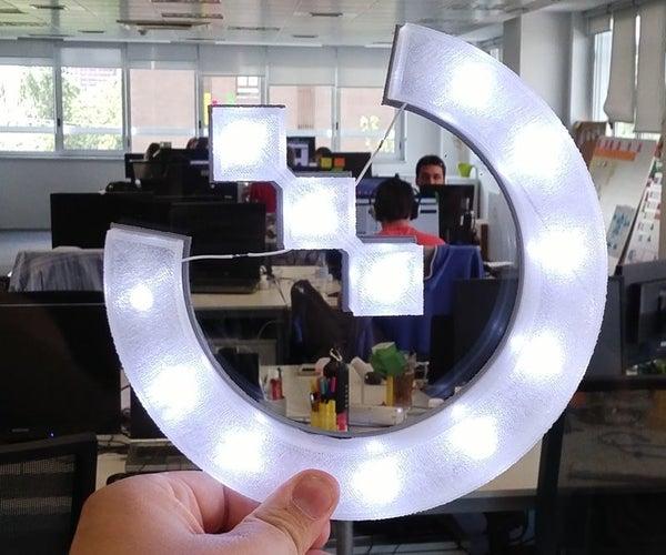 OpenLabs 3D Printed Lamp