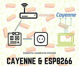 Cayenne and SparkFun IoT 433 Mhz Sockets