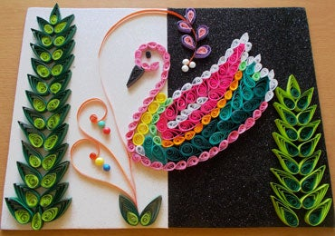 Your Quilling Craft Is Ready!