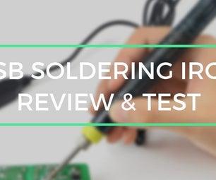 USB Soldering Iron(Useful Gadget)