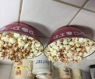 Ghost Pepper Popcorn: