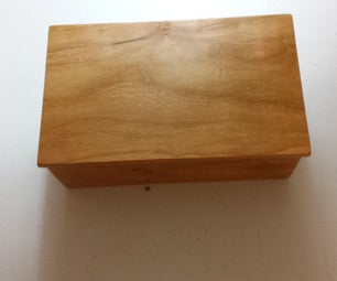"Cherry Trinket Box ""I Made It at TechShop"""