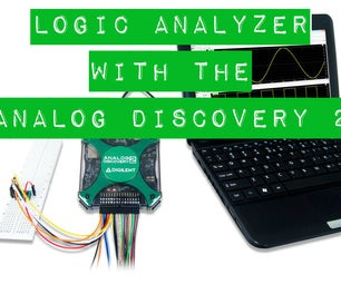 Using the Logic Analyzer With the Analog Discovery 2
