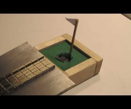 Magnetic Mini Golf