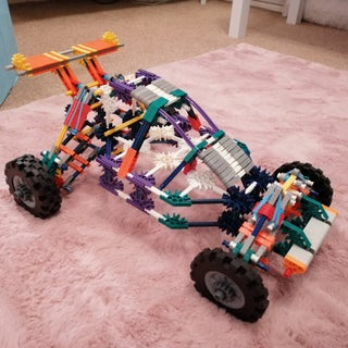Knex Buggy With Independent Suspension