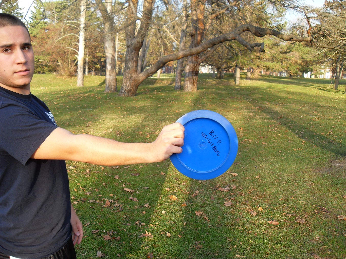 Gripping the Disc- Choice #1