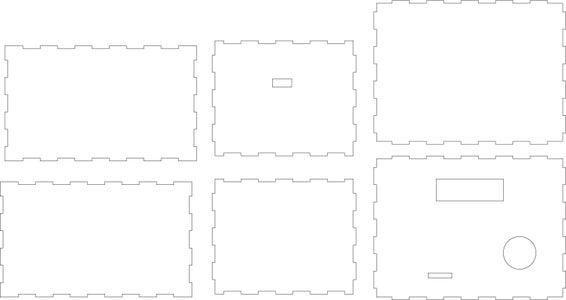 The Exterior: Laser Cut Box
