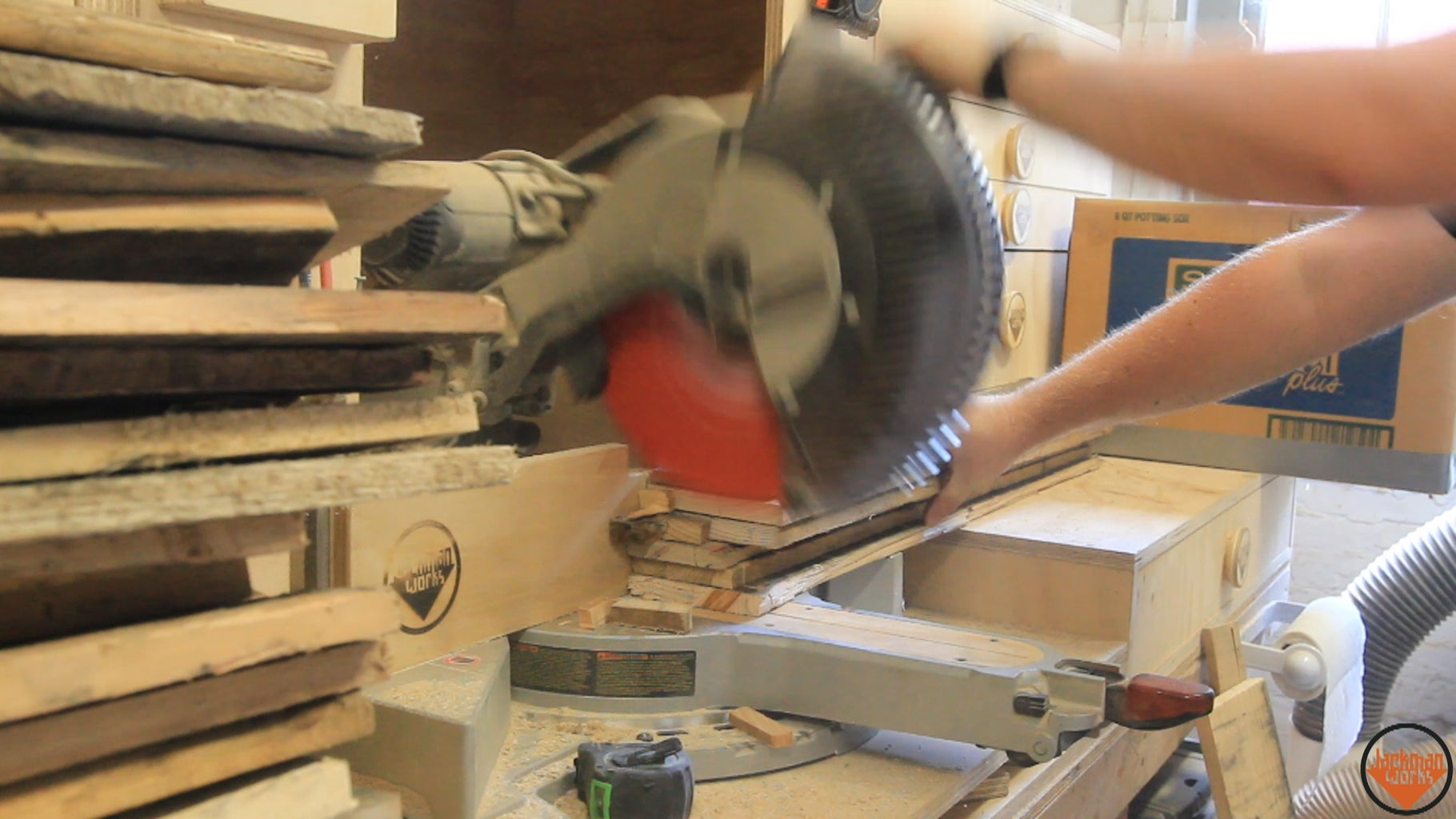 Rough Milling the Pallet Wood