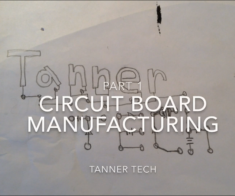 Circuit Board Manufacturing Without a Computer Part 1: the Design
