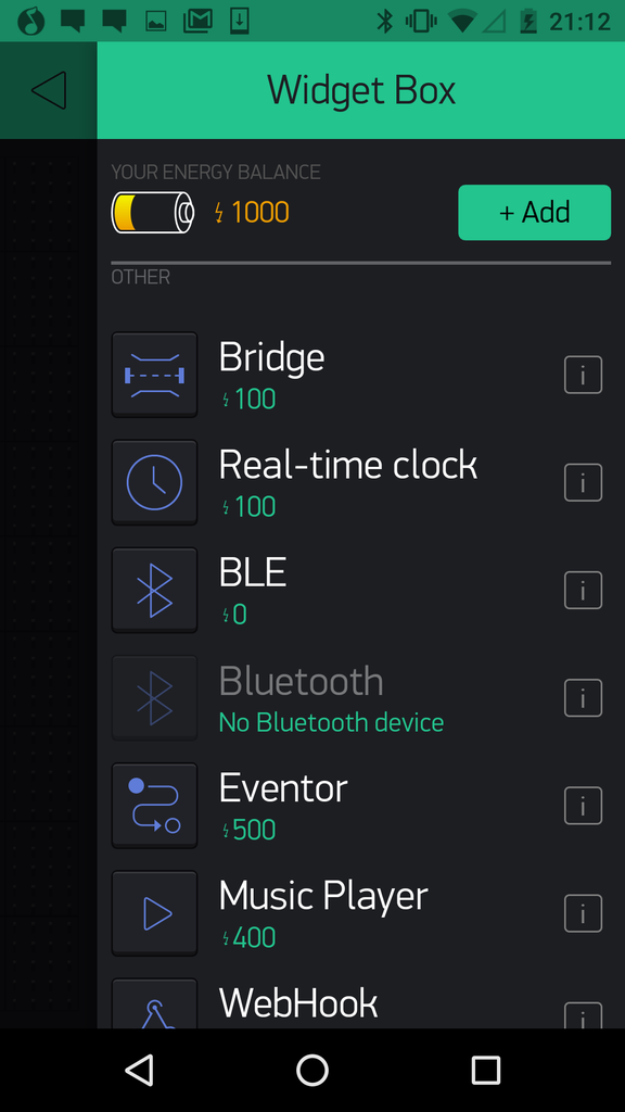 Making the Bluetooth App
