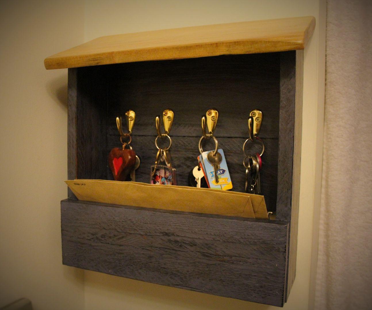 Diy Pallet Wood Key Holder