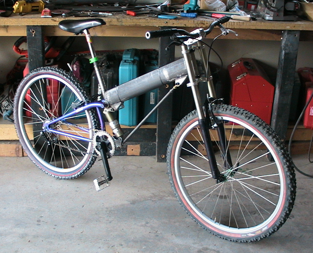 How to build a suspension mountain bike
