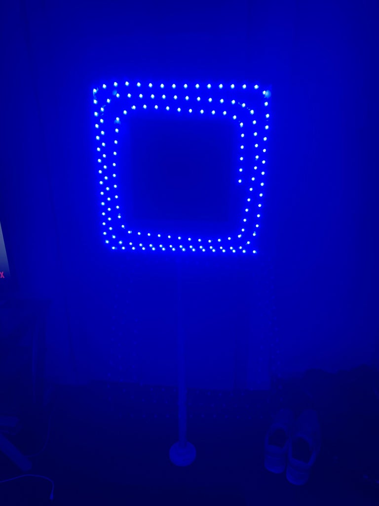 Color Changing LED Ring Light