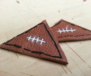 Recycled Leather Finger Football