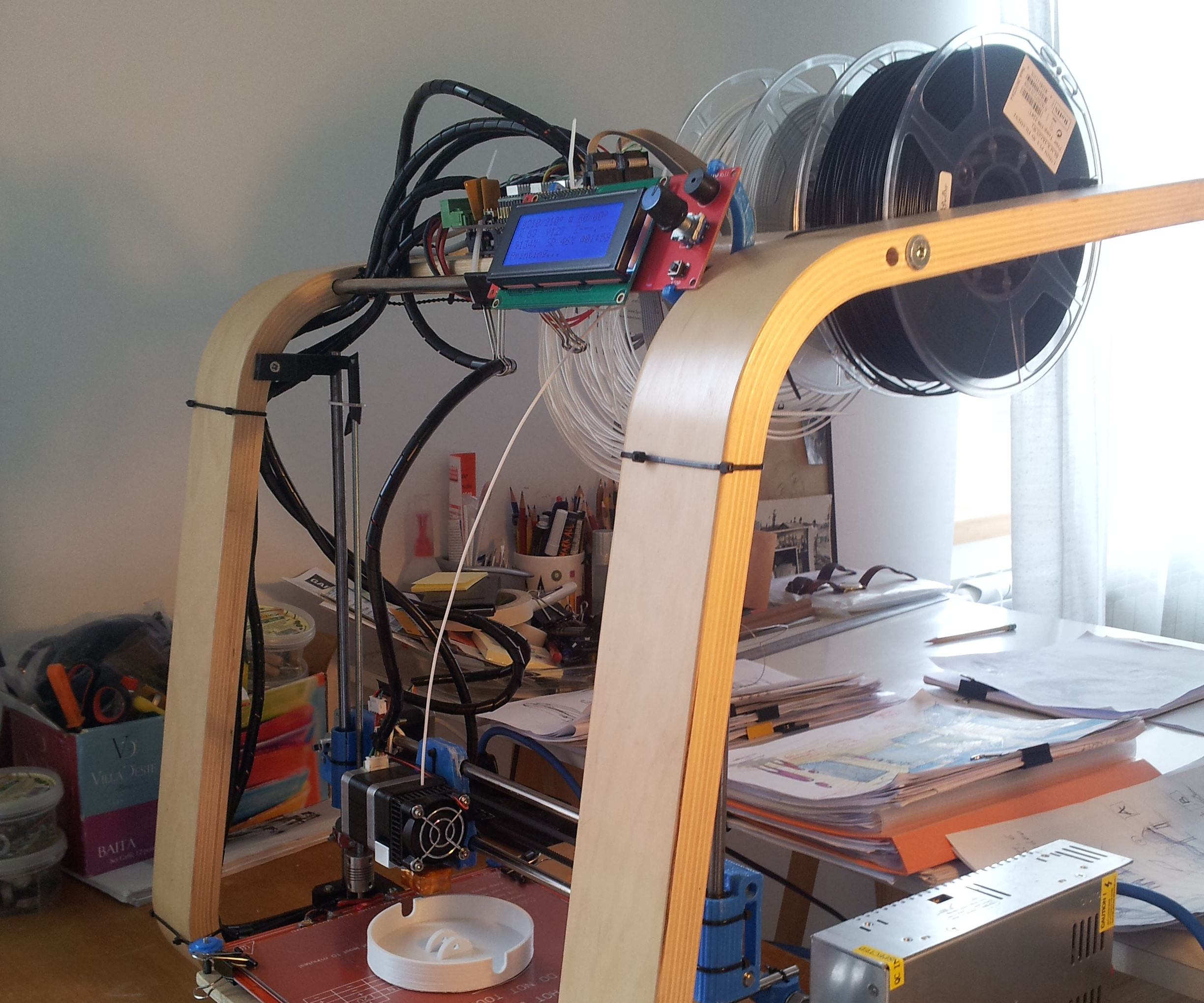 From an Ikea Footstool to (Poang) 3D printer!