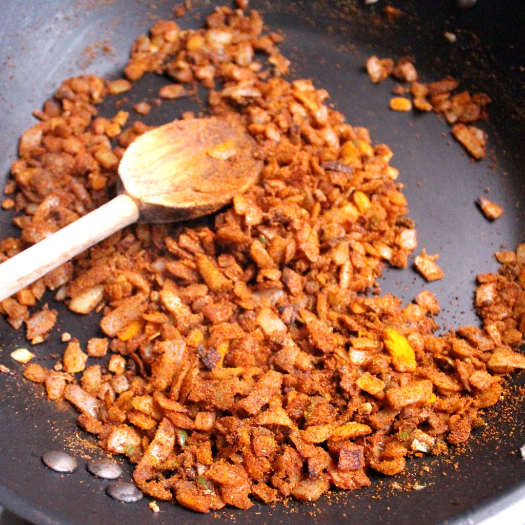 Cook the Veggies and Add Spices
