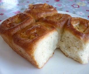 Pull-Apart Garlic Cheese Bread Rolls - Very Easy Recipe