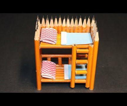 Turn an Ordinary PENCIL Into a BUNK BED - Twin Bed!