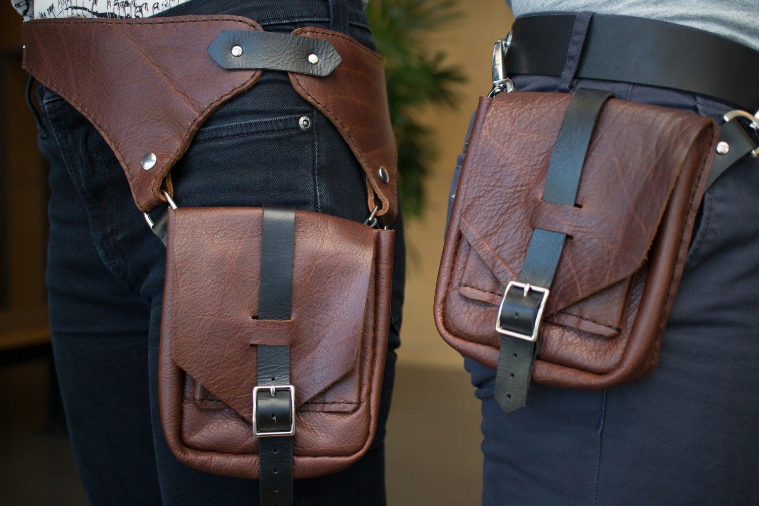 Leather Pocket Belts