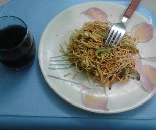 Spicy Vegie Noodles