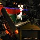 GINORMAS Holiday reindeer aka Rudolph