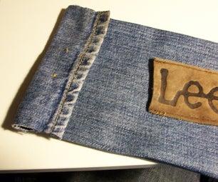 Old Jeans Pencil Case